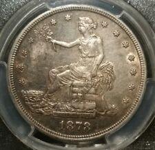 1878 S TRADE DOLLAR PCGS AU55 T $1 USA NO CHOPS SILVER TONED 1878S AU 55 ORIENT