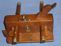 Vintage Invicta Sash Fillister Plane Collector's Old Woodworking Tool.