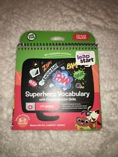 Leap Frog New Leap Start Superhero Vocabulary Talking Book