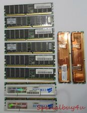 PC 3200 Memory RAM Mixed Lot OCZ Dual CH Dram Master Samsung Value Ram Corsair