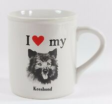 I Love Heart My Keeshond Dog Coffee Mug Cup