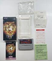 Shin Megami Tensei 2 II Nintendo Super Famicom Japan US Seller CIB 100% COMPLETE
