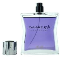 Daarej Pour homme EDP 100ml by Rasasi -Patchouli, Amber 100% Original -BRAND NEW