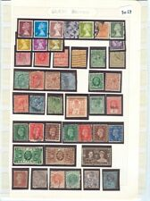s3028 Stamp Accumulation Great Britain