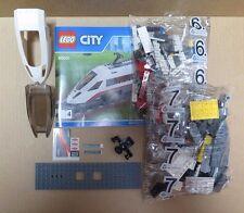 LEGO Train City Passenger White High-Speed End Carriage Railway Set 60051 NEW