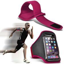 Custodia FASCIA DA BRACCIO TELEFONO di qualità ✔ Esercizio Sport Palestra Corsa Allenamento Fitness ✔ Rosa Caldo