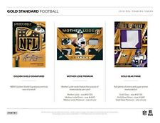 BALTIMORE RAVENS 2018 PANINI GOLD STANDARD FOOTBALL 4 BOX 1/3 CASE BREAK #12