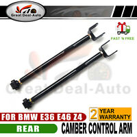 For BMW E36 E46 M3 316 318 323 328 Adj. Rear Lower Camber Control Arms Pair