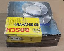 BRAKE DISCS X2 302 mm FITS VOLVO S70 V70 GENUINE BOSCH 0986478454