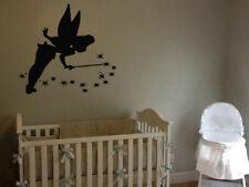 Wall Vinyl Sticker Decals Mural Room Design Tinker Bell Nursery Cartoon bo2403