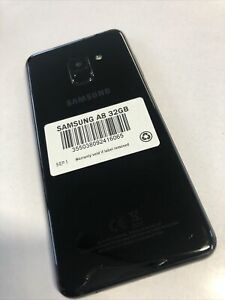 Samsung Galaxy A8 2018 4G Unlocked 32GB BLACK - UK