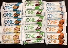 50 Assorted Flavor - One 1 Brand ONE 20g Protein Bar GF 1g Sugar