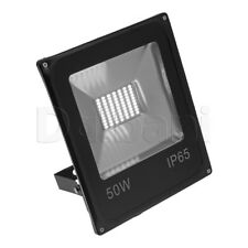 50W SMD Outdoor LED Flood Light 6000K Daylight IP65 Black Waterproof