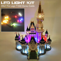 Ordinary Edition LED Light Lighting For Lego 71040 For Disney Castle Bricks