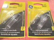 562-GE--LOT -OF  4--Map Light Bulb-Standard Lamp -562/BP2