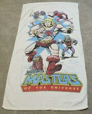Vintage Masters of the Universe Beach Towel - He-Man, She-Ra, Castle Grayskull