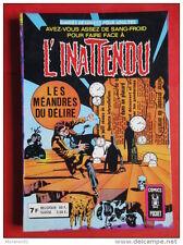 L'INATTENDU Recueil 3200 (n°11 & 12) AREDIT 1978 TRES BON ETAT