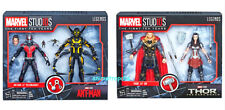 "Marvel Legends 10th Anniversary 6"" Thor & Sif + Ant-man & Yellow Jacket 2 Sets"