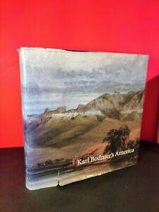 Karl Bodmer's America Hardcover Book With 359 Prints, 1984, Coffee Table Book🦅