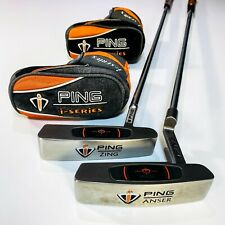 PING i-Series ZING and Anser Putters. 34 inch - Excellent Cond, Free Post # 4064