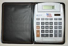 Big Display Lcd Calculator Large Desktop Tilt Electronic Solar Battery
