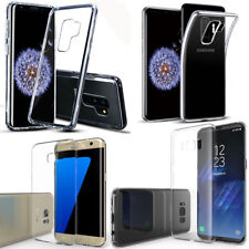 Transparent Ultra Thin Slim Gel Skin Cover Case Pouch For Samsung Huawei Sony