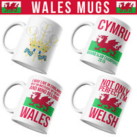 Wales Mugs Funny Welsh Gifts For Dad Novelty Rugby Grand Slam 2019 Cymru