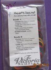 Heart's Secret   accessory pac  The Victoria Sampler