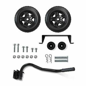 Champion Wheel Kit with Folding Handle and Never-Flat Tires for Champion 2800 to