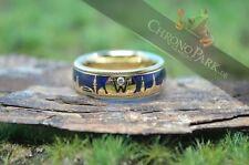 Echter Ringe im Drehring-Stil aus Gelbgold mit Diamant-Hauptstein für Damen