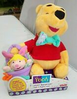 Fisher Price Disney Winnie The Pooh & Piglet Easter Surprise Plush Cuddly Toy