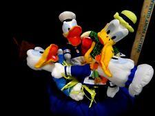 Disney Donald Duck 65th Anniversary Bean Bag Set Plush Stuffed in Sailor Hat NEW