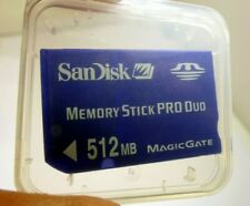 Sandisk 512MB memory Stick PRO Duo Card Camera memory for SONY