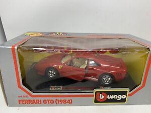 Bburago Burago 1/24 FERRARI GTO 1984 Diecast Car Cod. 0572