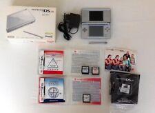 Nintendo DS lite Silver OVP, Beschreibungen,3 Programme,Kabel,Stift-- Vollständi