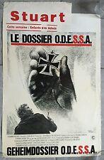 Affiche Belge LE DOSSIER ODESSA Odessa File RONALD NEAME Jon Voight MARIA SCHELL