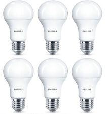 6x Philips 10w=75w COREPRO LED Gls A60 ES/E27 Blanco Frío 4000k Esmerilado