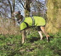 Masta Flash Dog Walking Warm Hi Vis Jacket Outdoor Coat Yellow