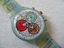 1996 Swiss Swatch Watch Chrono - chronograph Archimede SCG109 New