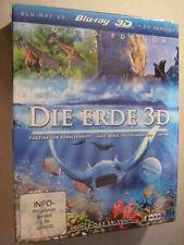 La tierra 3d Limited Edition Blu-ray 3d + 2d versión 3 Discs-nuevo + embalaje original!