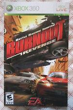 Xbox 360 - Burnout Revenge (Manual only)
