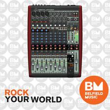 Behringer XENYX UFX1204 Mixer Premium 12 Input 16-Track USB Recorder w/ Firewire