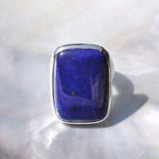 Lapislazuli Ring, 925er Silber, Edelsteinring (21586), Edelsteinschmuck
