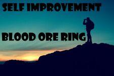 Self Improvement Blood Ore Ring Genius Intelligence Muscles Beauty Success Best