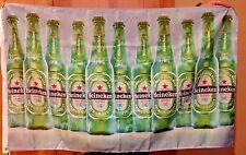 Heineken Beer Flag 3' X 5' Deluxe Indoor Outdoor Banner man cave bar