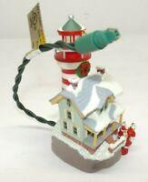 "Hallmark Keepsake 2006 ""Lighthouse Greetings"" Light Up Ornament QX2396"