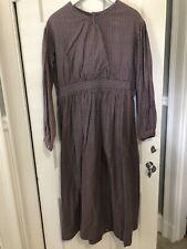 Civil War Reenactment Gingham Plaid Work Dress