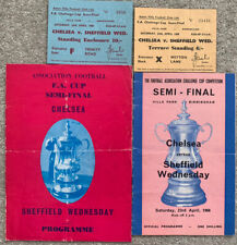More details for chelsea v sheffield wednesday 1966 fa cup semi final + pirate + 2 tickets
