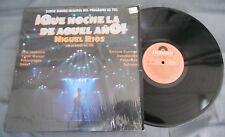 MIGUEL RIOS -QUE NOCHE LA DE AQUEL AÑO! VOL 1- 1987 MEXICAN LP ROCK EN ESPAÑOL