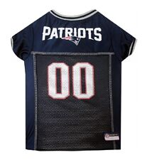 Pet's First New England Patriots Nfl Official Licensed Pet Polyester Dog Jersey